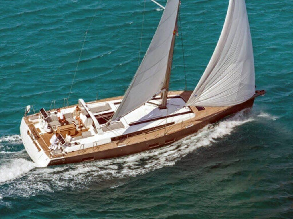 plachetnica v chorvátsku